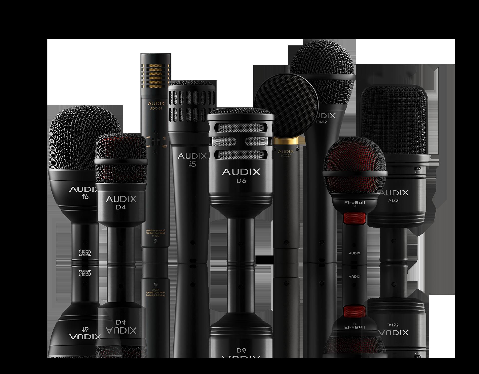 Профессиональные микрофоны и радиосистемы AUDIX