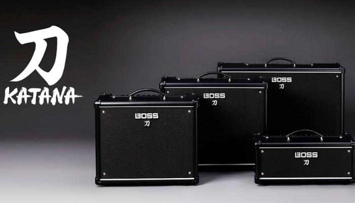 KATANA - новая серия гитарных усилителей от BOSS