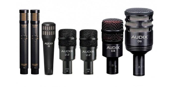 Микрофоны Audix - выбор барабанщиков