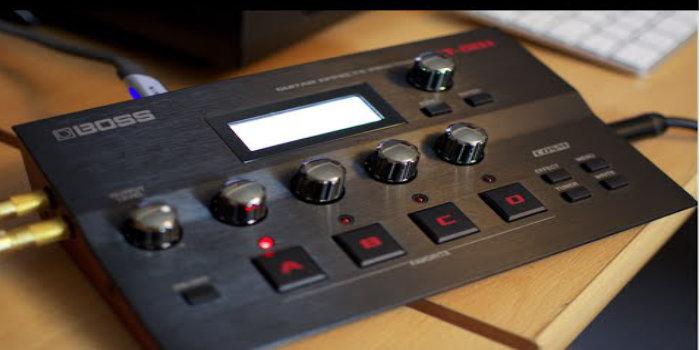 BOSS GT-001 - мощь флагмана гитарных процессоров на вашем столе