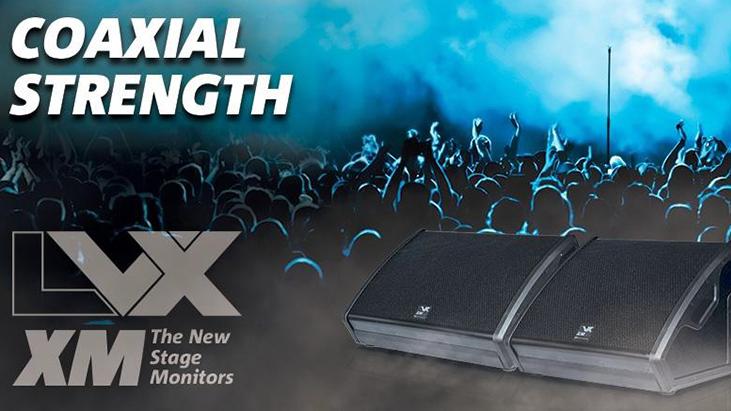 DB Technologies LVX XM12 и LVX XM15 – активные сценические мониторы с коаксиальными динамиками