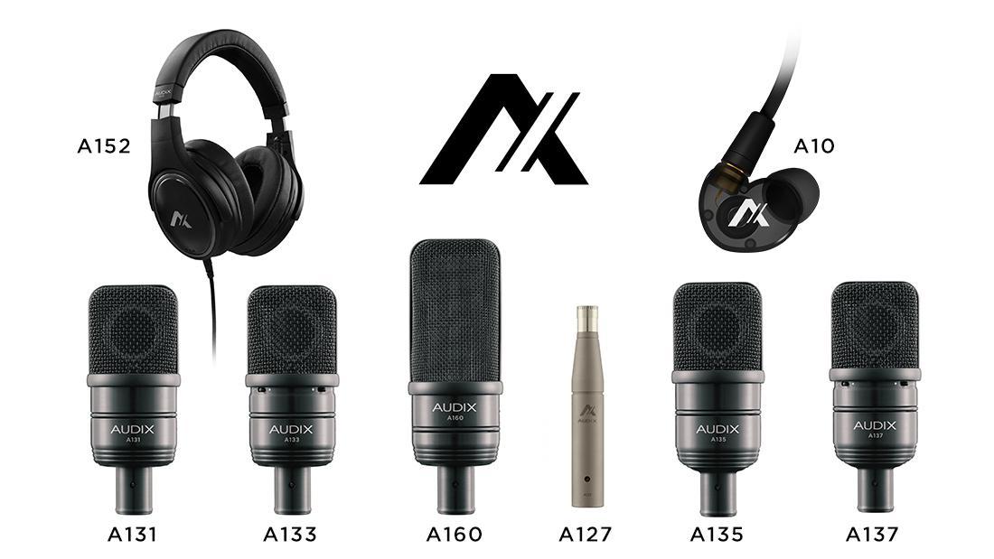 Новинки от Audix Microphones