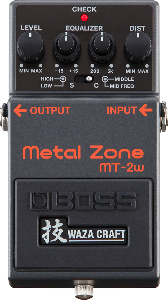 Музыкальные инструменты :: Комбоусилители, процессоры и педали эффектов :: Процессоры и педали эффектов :: Boss MT-2W Педаль гитарная