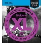 Купить D'addario EXL-120BT Струны для электрогитары