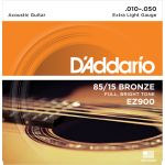 Купить D'addario EZ-900 Струны для акустической гитары (10-50)