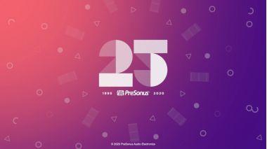 25 лет качества вместе с PreSonus!