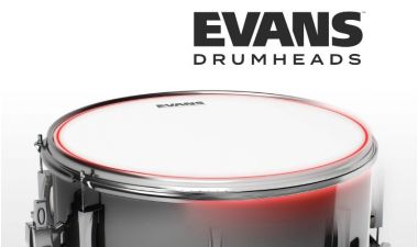 Новая серия пластиков для барабанов Evans UV-2