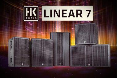 Новая серия акустических систем - HK AUDIO LINEAR 7