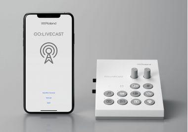 Roland GO:LIVECAST - портативная профессиональная студия вещания.