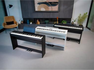 Roland FP-X - новая серия цифровых пианино в компактном корпусе.