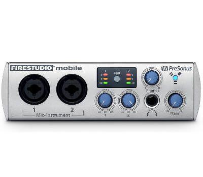 Звуковой интерфейс PreSonus FireStudio Mobile
