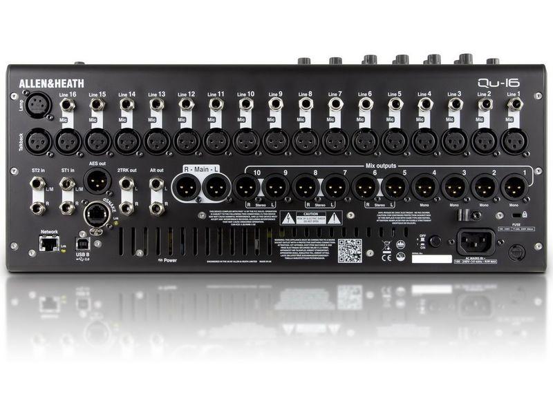 Купить Allen&Heath QU-16 (QU16C) Цифровой микшерный пульт
