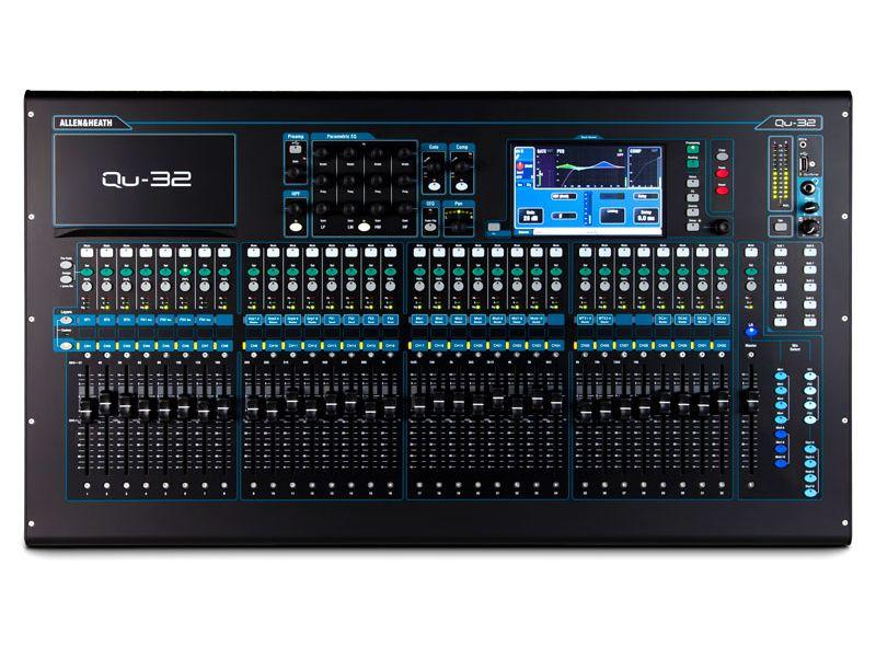 Купить Allen&Heath QU-32 (QU32C) Цифровой микшерный пульт
