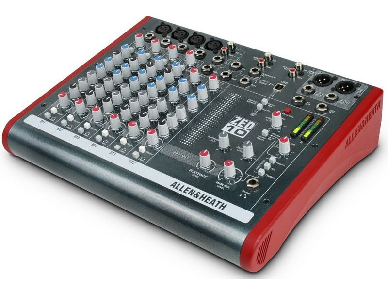 Купить Allen&Heath ZED1002 Микшерный пульт