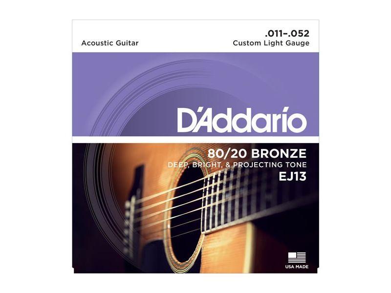 Купить D'addario EJ-13 Струны для акустической гитары