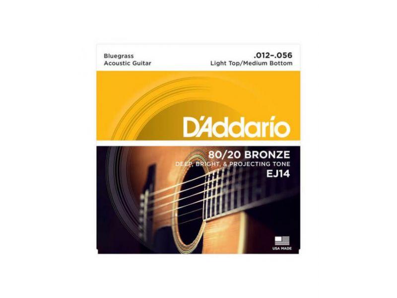 Купить D'addario EJ-14 Струны для акустической гитары