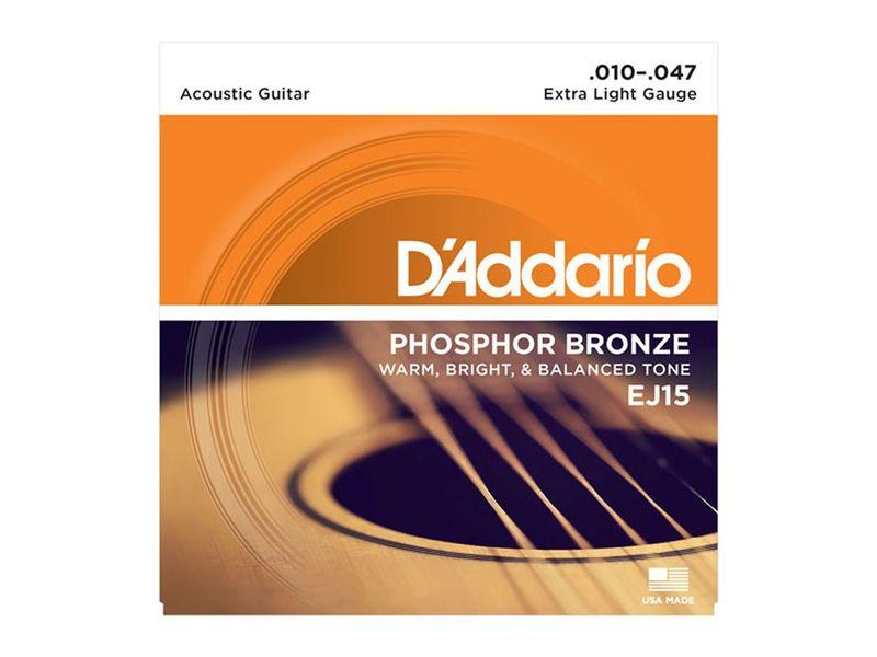 Купить D'addario EJ-15 Струны для акустической гитары