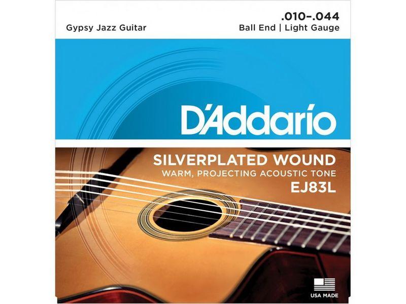Купить D'addario EJ-83L Струны для акустической гитары (10-44)