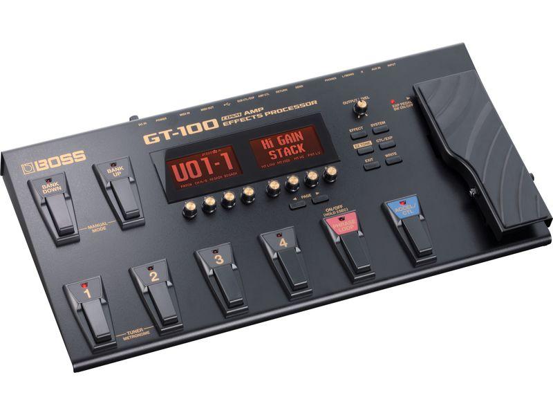 Купить BOSS GT-100 Процессор гитарный