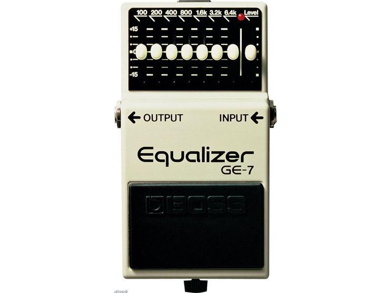 Купить BOSS GE-7 Педаль гитарная