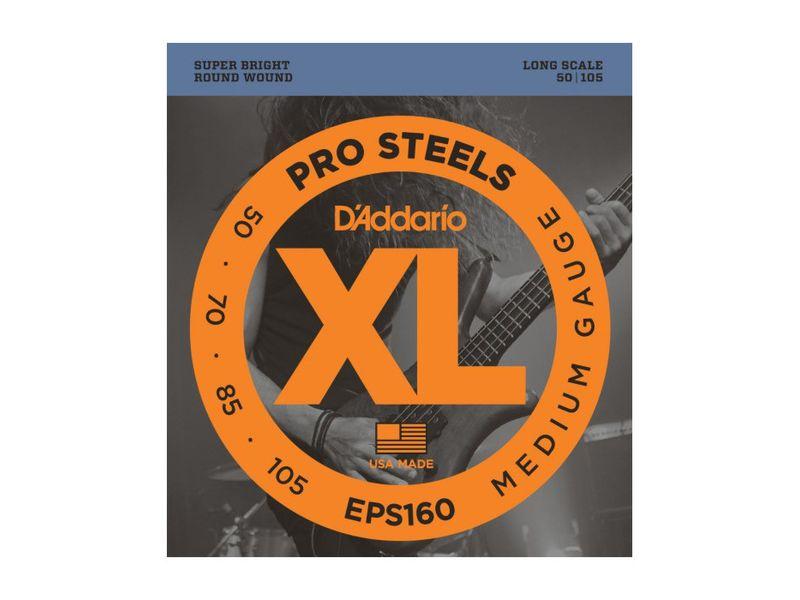 Купить D'addario EPS-160 Струны для бас-гитары (50-105)