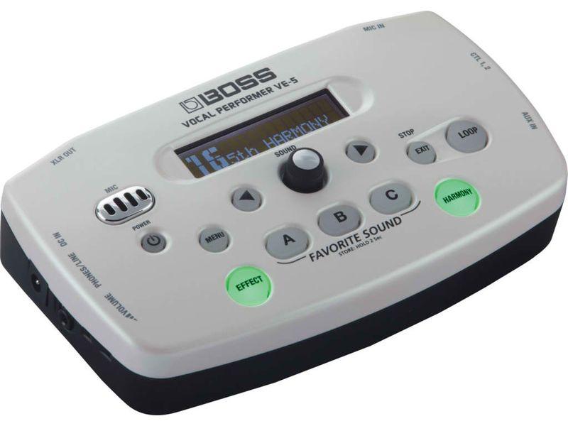 Купить BOSS VE-5-WH Процессор вокальный
