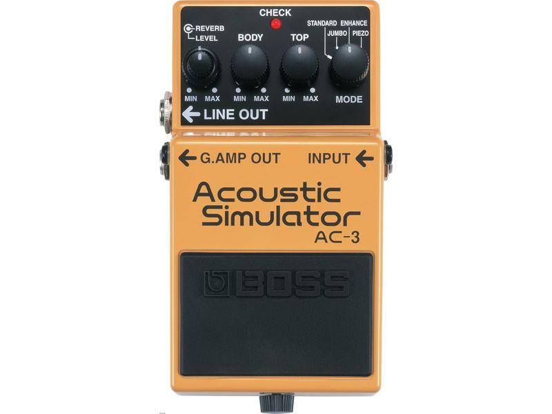 Купить BOSS AC-3 Педаль гитарная