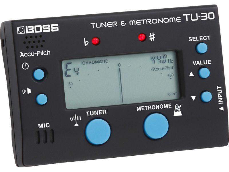 Купить BOSS TU-30 Тюнер/метроном