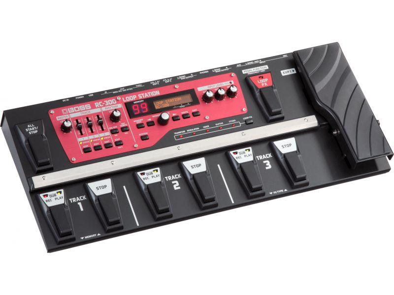 Купить BOSS RC-300 Процессор гитарный Looper