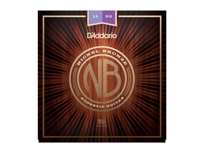Купить D'addario NB1152 Струны для акустической гитары (11-52)