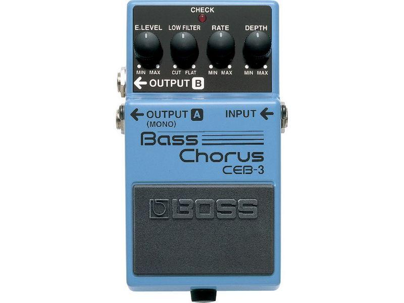 Купить BOSS CEB-3 Педаль басовая