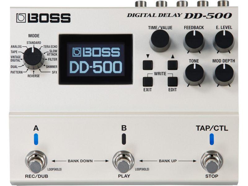 Купить BOSS DD-500 Педаль гитарная