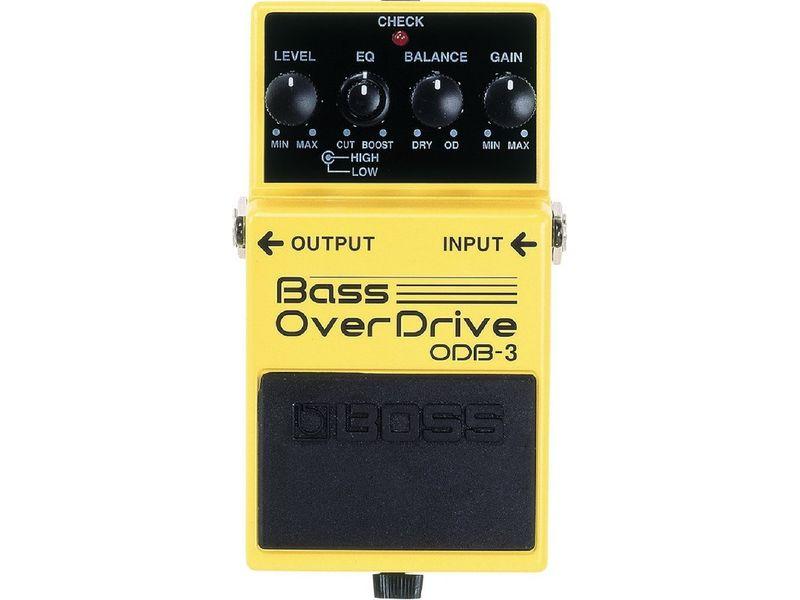 Купить BOSS ODB-3 Педаль басовая