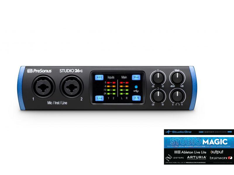 Купить Presonus Studio 26C Звуковая карта