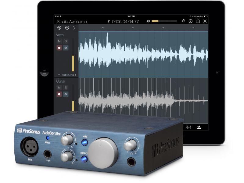 Купить PreSonus AudioBox iONE Звуковая карта