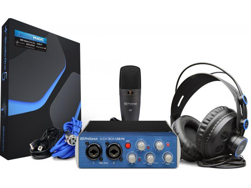 Купить PreSonus AudioBox USB 96 Studio Комплект студийный