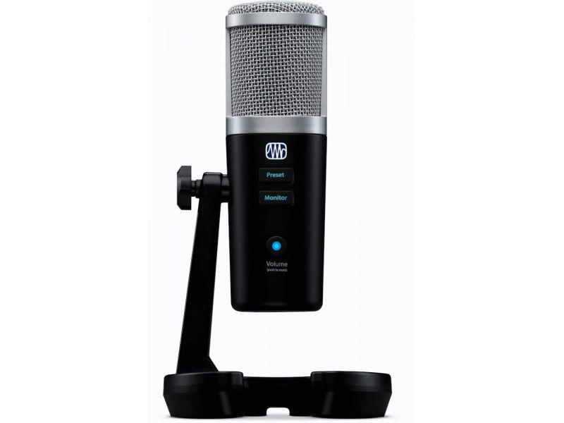Купить PreSonus Revelator USB-Микрофон студийный с DSP и выходом на наушники