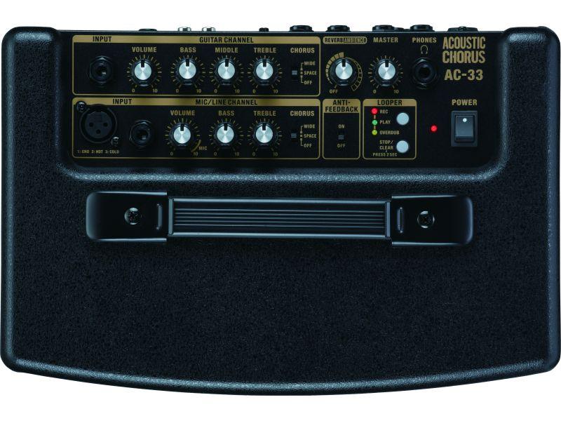 Купить Roland AC-33 Комбоусилитель для акустической гитары