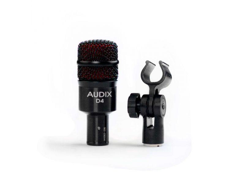 Купить AUDIX D4 Микрофон инструментальный