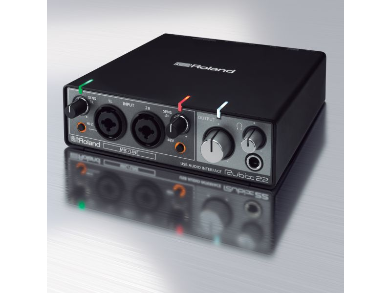 Купить Roland Rubix 22 Звуковая карта USB