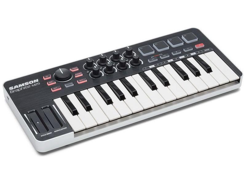 Купить Samson Graphite M25  Миди-клавиатура