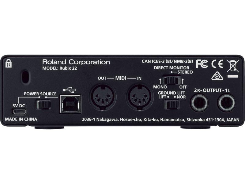 Купить Roland Rubix 22 Звуковая карта