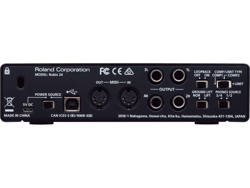Купить Roland Rubix24 Звуковая карта