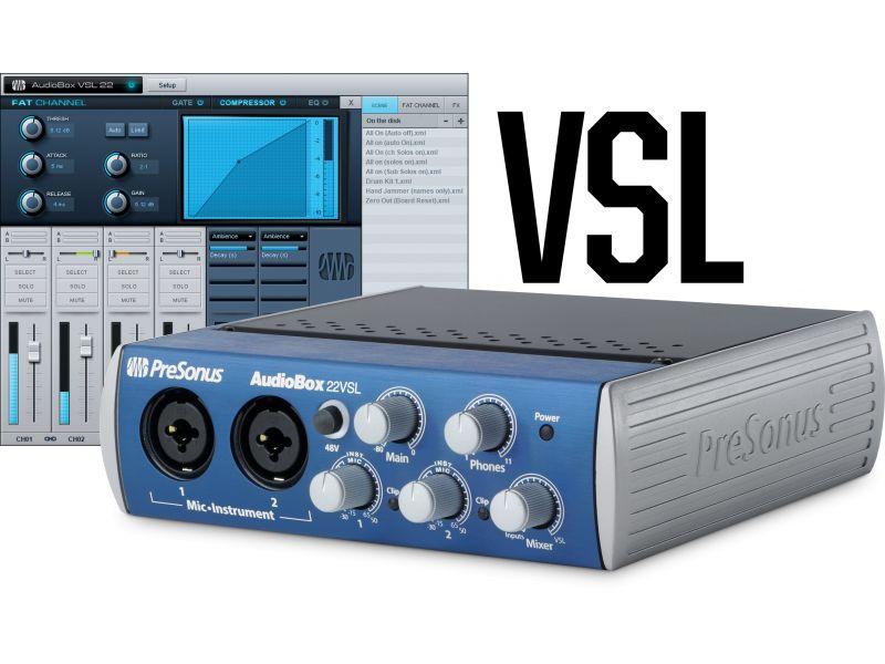 Купить PreSonus AudioBox 22VSL Звуковая карта