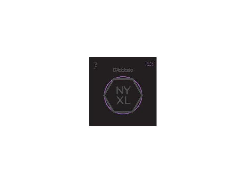 Купить D'addario NYXL1149 Струны для электрогитары