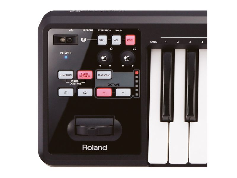 Купить Roland A-49-BK Миди-клавиатура