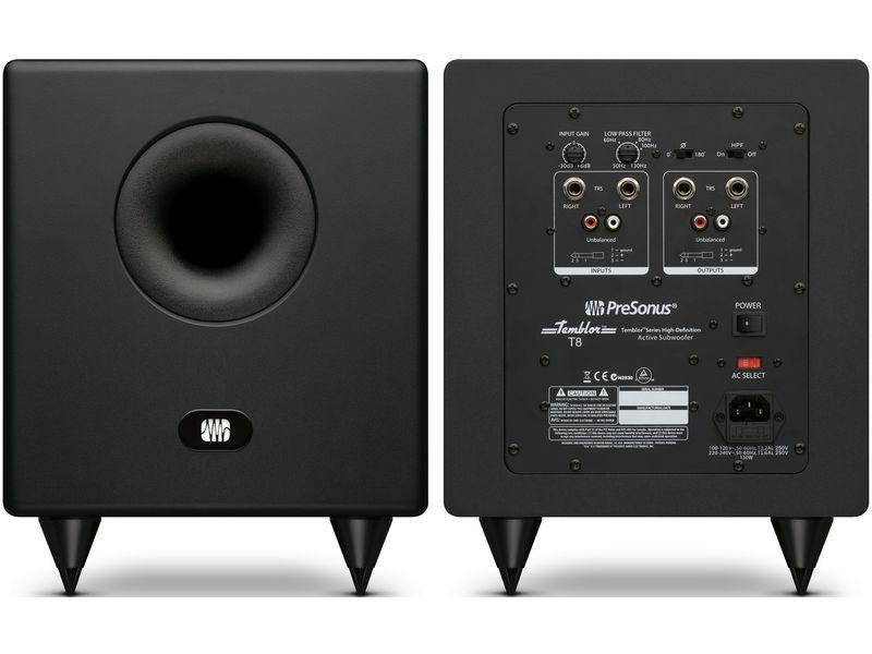 Купить PreSonus Temblor T8 Монитор студийный (сабвуфер)