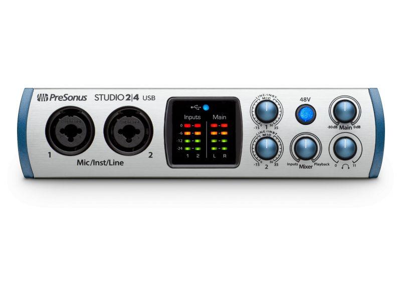 Купить PreSonus Studio 24 Звуковая карта