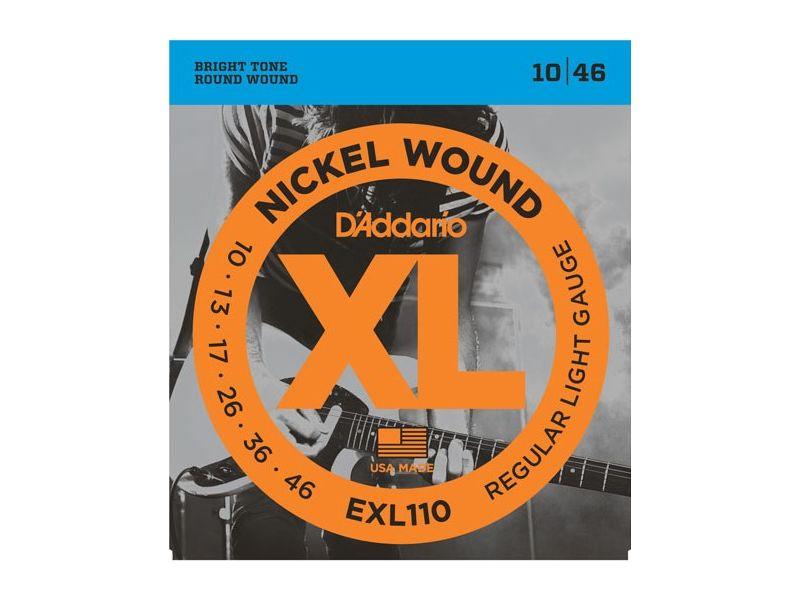 Купить D'addario EXL-110 Струны для электрогитары