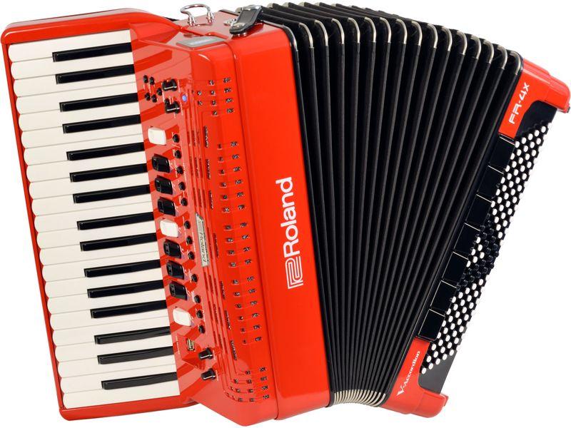 Купить Roland FR-4X RD Цифровой аккордеон